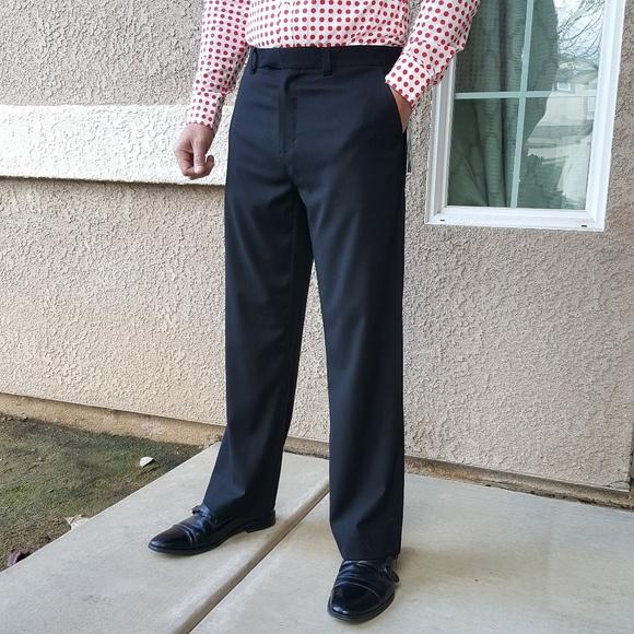 Kenneth Cole Pants Mens Black Dress Slacks Poshmark